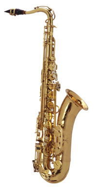Norton Tenor Saxophone in Gold Lacquer