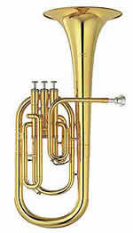 Norton International Tenor Horn 3 Valve Eb